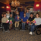 Photo Flash: US Open Wheelchair Athletes Spend Sweet Evening at Broadway's CHARLIE AND THE CHOCOLATE FACTORY