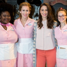 Photo Coverage: WAITRESS Unveils Pink Costumes for  Breast Cancer Awareness Month! Photo