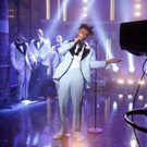 VIDEO: Amine Performs 'Wedding Crashers' on LATE NIGHT