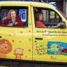 Photo Flash: WHAT THE LADYBIRD HEARD Author & Illustrator Taxi Around London to Celebrate West End Adaptation
