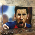 Art Miami Presents Soccer Star Portraits for El Clasico Miami
