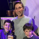 Photo Flash: Broadway Bricks Creator Visits CHARLIE AND THE CHOCOLATE FACTORY Actors Backstage with Special Legos