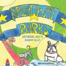 Photo Flash: Artwork Revealed for 19th Annual Broadway Barks!