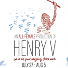Hamlet Isn't Dead to Stage All-Female HENRY V This Summer