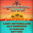 Lady Antebellum & More Set for Coastal Country Jam On The Beach This September
