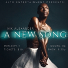 MOTOWN THE MUSICAL's Nik Alexander Sings A New Song At Rockwood Music Hall