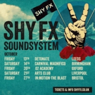 Shy FX Announces Soundsystem UK Tour