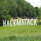 Huge 'Hackmatack' Sign in Berwick Celebrates 45 Years of Theater Photo
