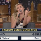 VIDEO: Miley Cyrus Takes On 'Musical Genre Challenge' on TONIGHT