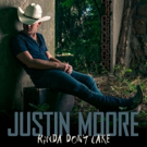 Justin Moore's 'Kinda Don't Care' Hits Country Radio; Tour Dates Announced
