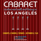 Cast Announced for CABARET IS ALIVE AND WELL AND LIVING IN LOS ANGELES Actors Fund Be Photo