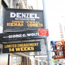 Up on the Marquee: THE ICEMAN COMETH with Denzel Washington Photo