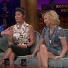 VIDEO: Julie Chen and Edie Falco Visit LATE LATE SHOW