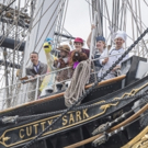 Photo Flash: Cast of THE HUNTING OF THE SNARK Visit Cutty Sark Photos