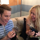 VIDEO: Ben Platt & Rachel Bay Jones Check Out Their Freshly-Engraved Tonys for the First Time!