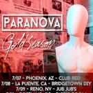 Paranova Announces Release of Debut Record 'Hyperhollow'; Tour Dates