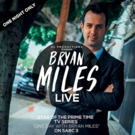 BRYAN MILES: LIVE at Alexander Upstairs