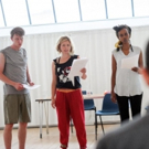 Photo Flash: In Rehearsal for Kieran Hurley's AN INJURY at Ovalhouse