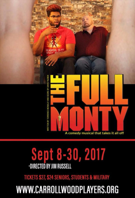 Carrollwood Players to Present THE FULL MONTY