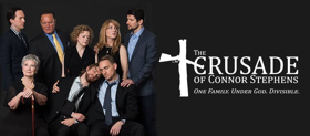 Off-Broadway's THE CRUSADE OF CONNOR STEPHENS Streams Live Tonight