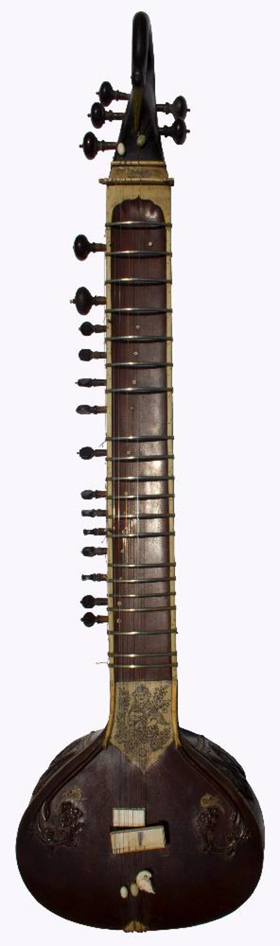 George Harrison's Sitar Used for the Beatles' Recording of 'Norwegian Wood' Sells for Over $60K