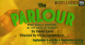 Rattlestick Playwrights Theater Announces Middle Voice Show THE PARLOUR, 2017 Initiatives