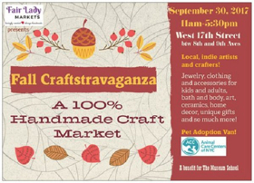 Fair Lady Markets to Host Fall 2017 Craftstravaganza in Chelsea