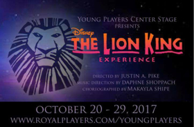Young Players Center Stage Presents Disney's THE LION KING JR