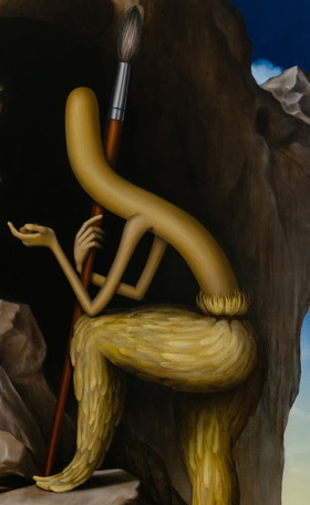 Emily Mae Smith's 'The Sphinx or The Caress' Opens Tomorrow