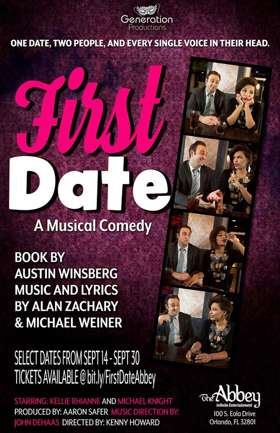BWW Review: Audiences Won't Need a 'Bailout' from FIRST DATE at The Abbey