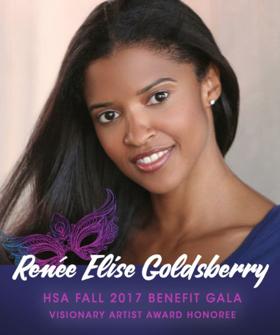 HSA to Honor HAMILTON's Renee Elise Goldsberry at Fall 2017 Benefit Masquerade Gala