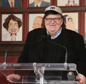 Michael Moore Donates $10K to The Public Theater