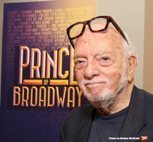 Hal Prince Chats, Signs New Memoir SENSE OF OCCASION Today at The Drama Book Shop