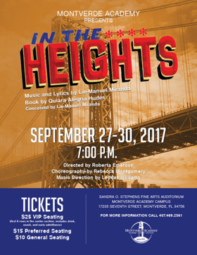 Montverde Academy to Present IN THE HEIGHTS This September