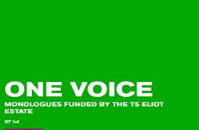 ONE VOICE AT THE OLD VIC to Feature Monologues by Mark Watson, Amelia Bullmore, and Yasmina Reza