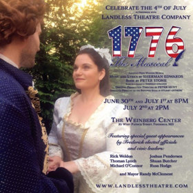 Landless Theatre Company Strikes Back this Weekend with 1776