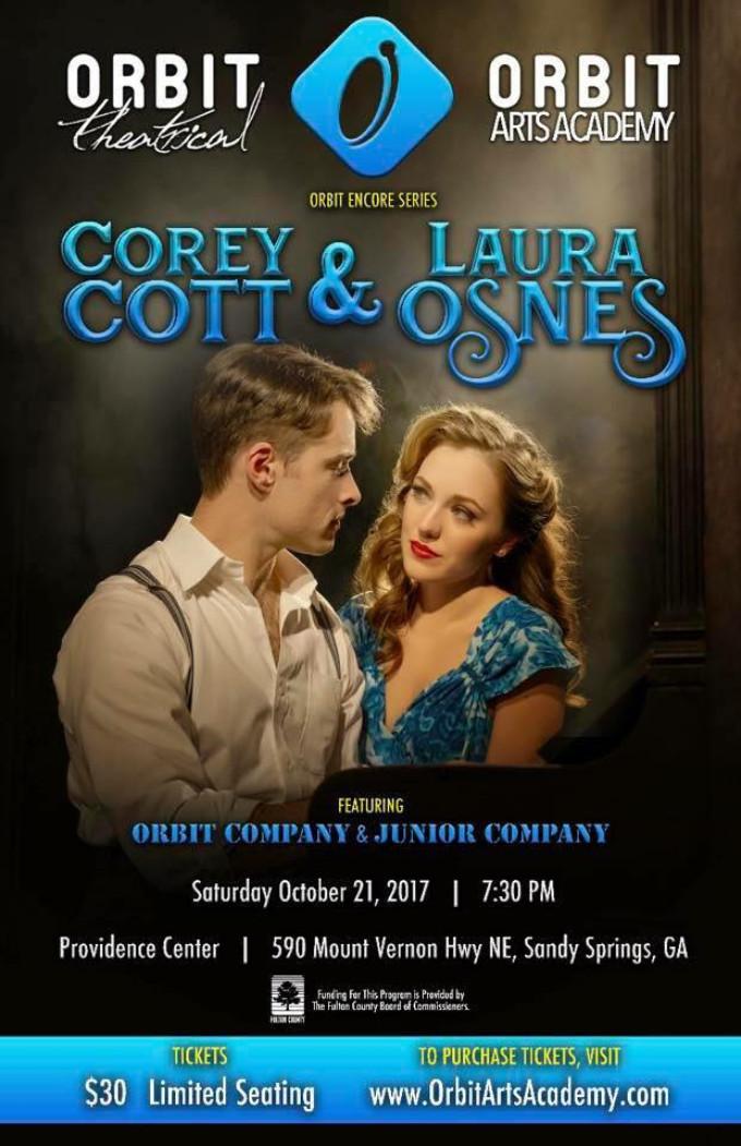 BWW Interview: Tony Galde of Orbit Arts Academy talks COREY COTT AND LAURA OSNES SHOWCASE