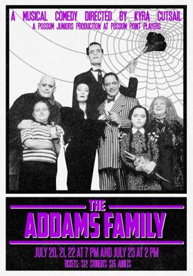 Possum Juniors Perform THE ADDAMS FAMILY, 7/20-23