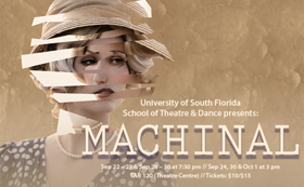 Inspired by First Woman Sent to Electric Chair, MACHINAL to Play TheatreUSF This Fall