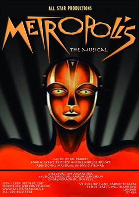 All Star Productions Concludes 2017 Season with METROPOLIS