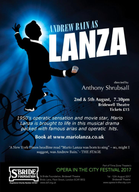 Andrew Bain Brings LANZA to the Bridewell