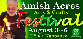 New Competition and Judging Format Slated for 2017 Amish Acres Arts & Crafts Festival
