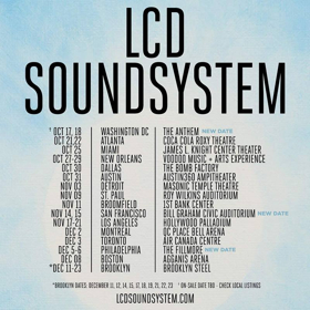 New Dates Added to LCD Soundsysttem 2017 World Tour