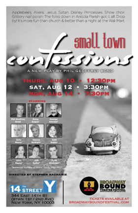 Alice Ripley, Daisy Eagan and More to Share SMALL TOWN CONFESSIONS at Broadway Bound Theatre Festival
