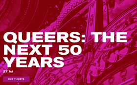 The Old Vic to Host QUEERS: THE NEXT 50 YEARS as Part of 'Voices Off' Series