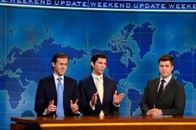 NBC's SNL: WEEKEND UPDATE Grows +42% vs Lead-In; Scores as No. 2 Show of the Night