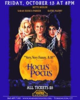 Warner Theatre to Show HOCUS POCUS this Halloween Season