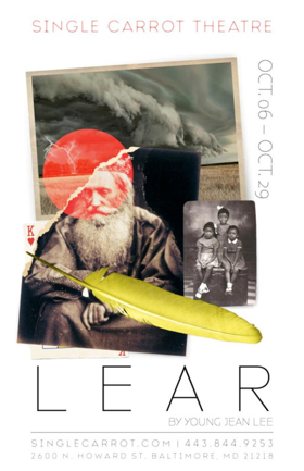 Single Carrot Theatre to Launch Season 11 with Young Jean Lee's LEAR