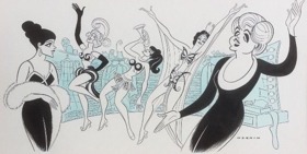 Broadway Caricaturist Sam Norkin Subject of Online Exhibition This Fall