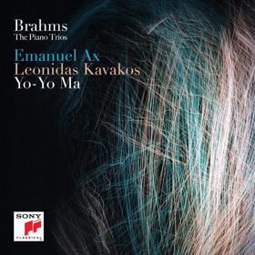 Emanuel Ax, Leonidas Kavakos and Yo-Yo Ma Record BRAHMS: THE PIANO TRIOS